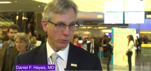 Daniel Hayes MD, Clinical Director of the Breast Oncology Program at the University of Michigan Cancer Center Ann Arbor