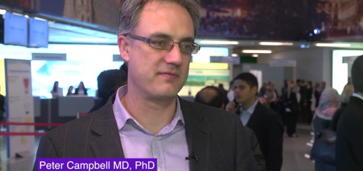 Peter Campbell MD PhD, head of Cancer Genetics and Genomics at the Sanger Institute in Cambridge